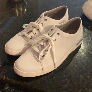 Clark's white sneaker. Barely worn.